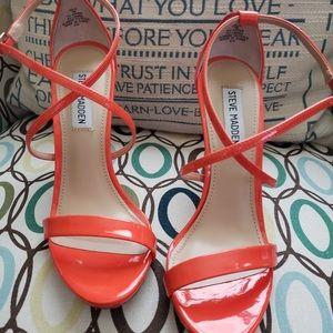 Steve Madden Orange Sandal